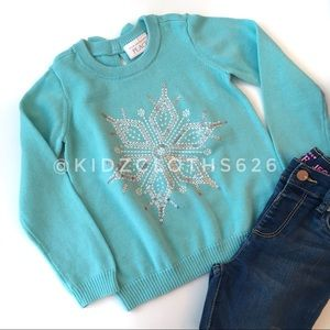 Children's Place Snowflake Sweater